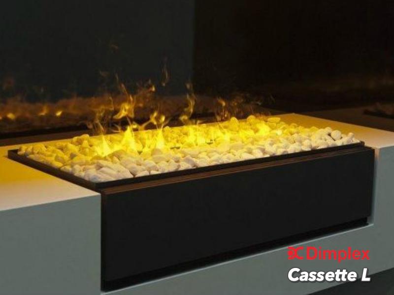 Faber Cassette L inbouw sfeerhaard met 3D mist functie sierhaard