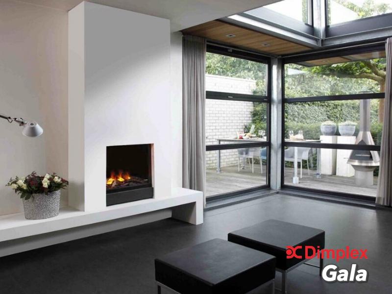 Faber Gala inbouw sierhaard inbouw front sfeerhaard met 3D mist functie