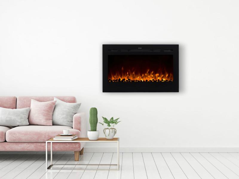 Noble Flame Paris 115 cm inbouwhaard 1150